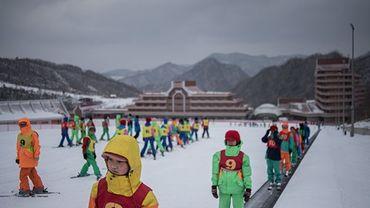 En Corée du Nord, le ski ne fait pas boule de neige