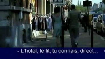 """Une image du film """"Femme de la rue"""" de Sofia Peeters dénonçant le harcèlement à Bruxelles"""