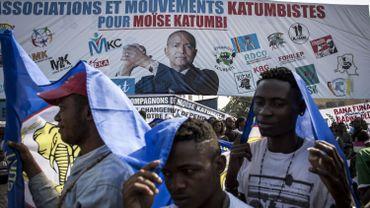 Manifestation à Kinshasa en faveur de Moise Katumbi.
