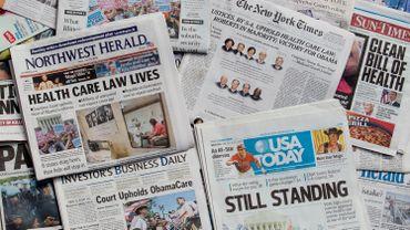 Les journaux, source d'information privilégiée pour 7% seulement des Américains