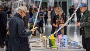 Première édition du salon du livre d'Estaimpuis de week-end