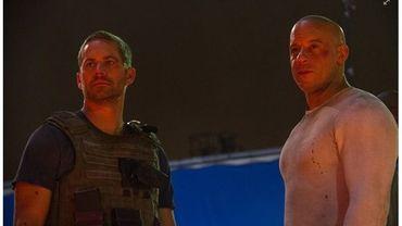 Paul Walker et Vin Diesel lors de leur dernière scène tournée ensemble