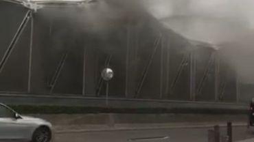 Début d'incendie à la station de métro Erasme: le trafic est interrompu