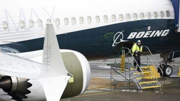 Un Boeing 737 MAX 9 dans l'usine de Renton, dans l'Etat de Washington, le 12 mars 2019