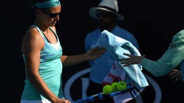 Flipkens quitte l'Australian Open, battue au jeu décisif du troisième set