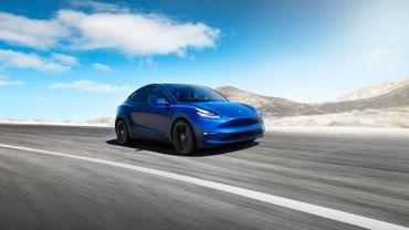 Voici une première image du Tesla Model Y.