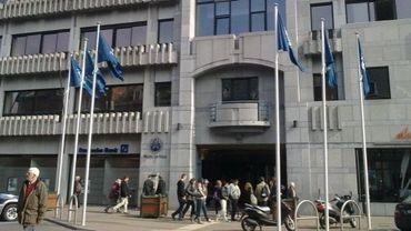 L'hôtel de ville de Namur.