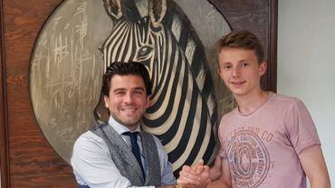 Charleroi offre un 1er contrat professionnel au jeune gardien Joachim Imbrechts