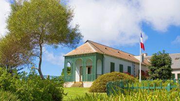 Longwood House à Sainte-Hélène.