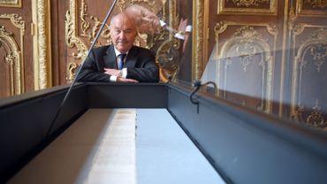 Gérard Lheritier, président et fondateur de l'institut des Lettres et des Manuscrits et du fonds Aristophile.