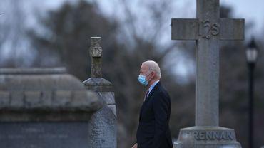 Joe Biden est un catholique pratiquant de 78 ans.