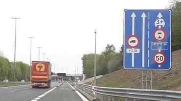 Lancement de 2 projets pilotes de bandes réservées au covoiturage en Wallonie