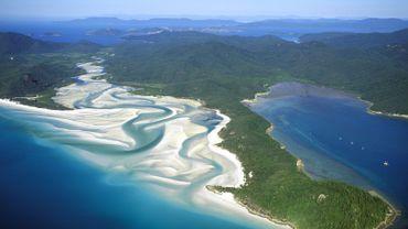 """Les Whitsundays Islands ont été désignées """"Meilleure île d'Australie et du Pacifique Sud""""."""