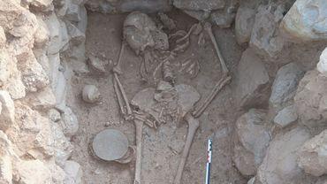 Une sépulture étonnante d'une femme vieille de 3500 ans