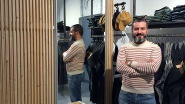 Mohamed Farhat a ouvert Mokha, sa boutique de vêtements, il y a un peu plus d'un an