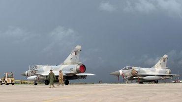 Avions qatari de la coalition