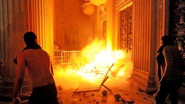 A Rio, il y a eu des affrontements entre policiers et manifestants