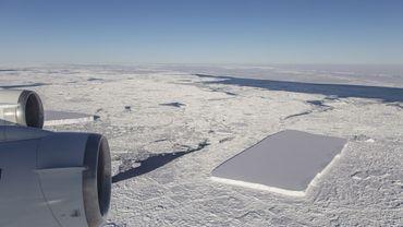 Un glacier aux formes très régulières a été observé par la NASA