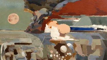 """""""Battle of Germany"""" par Paul Nash"""