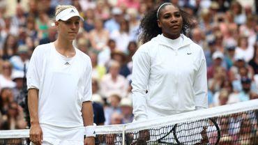 Angelique Kerber et Serena Kerber