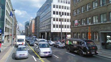 Un nouveau projet de réaménagement de la rue de la Loi et de ses abords fâche les riverains duy quartier européen