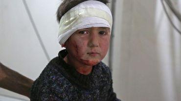 Guerre en Syrie: le nombre d'enfants tués a doublé en 2017
