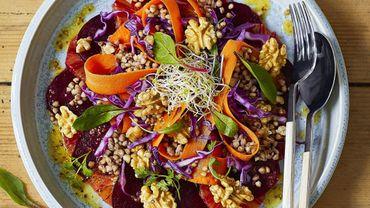Salade healthy aux noix