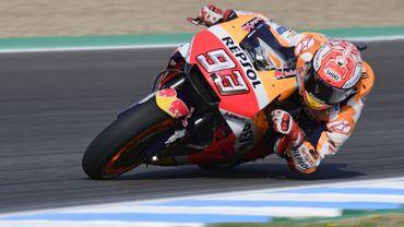 Marquez frappe d'entrée au Grand Prix de France