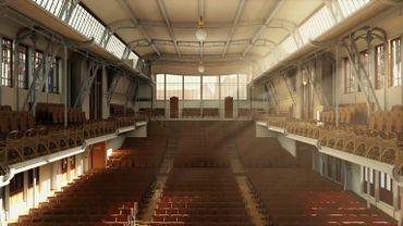Reconstitution 3D de la Maison du Peuple de Victor Horta