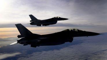 Deux F-16 belges