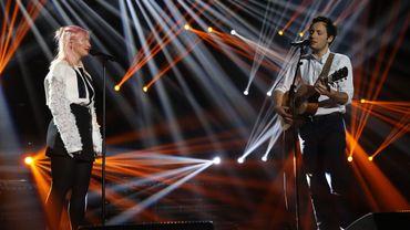 Duo délicieux pour Alice on the roof et Vianney aux D6bels Music Awards
