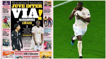 La presse italienne envoie Romelu Lukaku à l'Inter Milan
