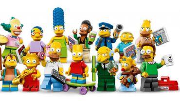 Les figurines Légo Simpson