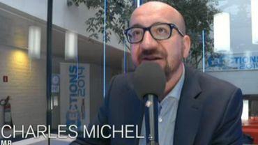 Charles Michel, le président du MR était l'invité de la Première