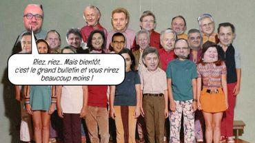 Le gouvernement Michel caricaturé par les syndicats
