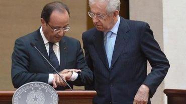 Il reste peu de temps pour éviter l'implosion de la zone euro. Mario Monti organisera un mini-sommet vendredi