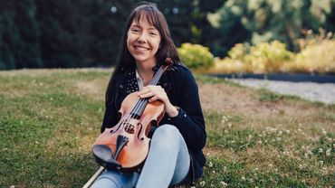 La violoniste Alexandra Cooreman représente la Belgique à l'Eurovision des jeunes musiciens