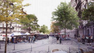 Le parvis de Saint-Gilles sera bientôt une zone piétonne, les travaux débutent ce lundi 17 juillet, ils sont prévus pour durer jusqu'en avril 2018
