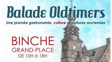Balade oldtimers, gastronomie et culture à Binche ce samedi 11 août