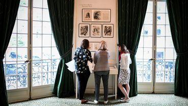 Le musée Yves Saint Laurent expose du 3 juin au 9 septembre les dessins de jeunesse du créateur français