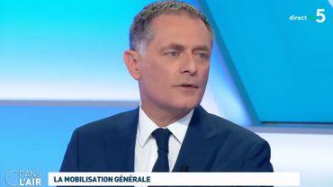 Philippe Juvin, chef du service des urgences de l'hôpital Georges Pompidou à Paris.