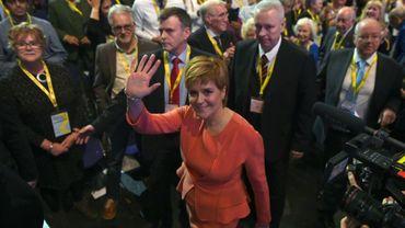 La Première ministre d'Ecosse, Nicola Sturgeon, le 9 octobre 2018 à Glasgow