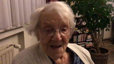 Elisabeth De Proost, fête ses 111 ans.