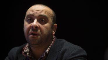 """Ismaël Saïdi, l'auteur de la pièce """"Djihad""""."""