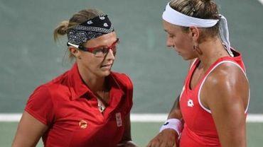 Wickmayer 34e et Flipkens 60e au classement WTA, Muguruza prend la 3e place