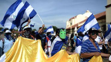 """Pour les USA, Ortega et sa femme sont """"responsables"""" des violences au Nicaragua"""