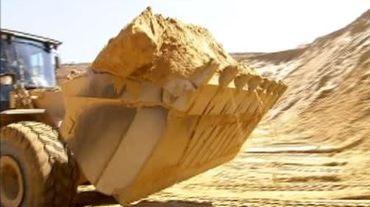 Le sable en pénurie