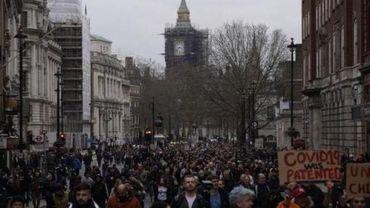 Coronavirus - Plus de 30 arrestations à Londres après une manifestation contre les mesures corona