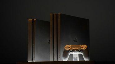 Présentation des deux nouveaux modèles de la Playstation 4 (PS4) à NewYork, le 7 septembre 2016