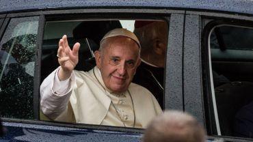 Le pape François lors de sa récente visite en Pologne